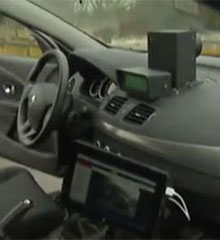 radar mobile mobile interieur