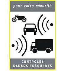 nouveau panneau radars fixes